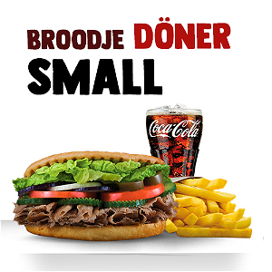 Foto Broodje Döner (SMALL menu)