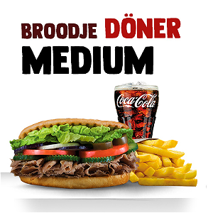 Foto Broodje Döner (MEDIUM menu)