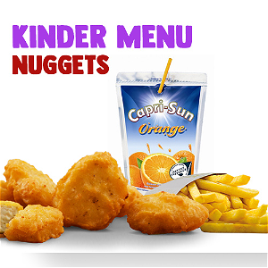Foto Chicken Nuggets 4st  kindermenu